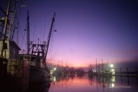 """ Sunrise Yaquina Bay Harbor """